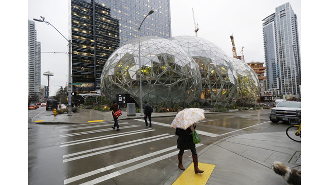 Here's what it's like inside Amazon's indoor rainforest
