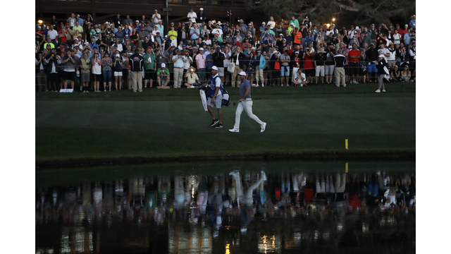 Woods' short game saved the day, says Hoffman