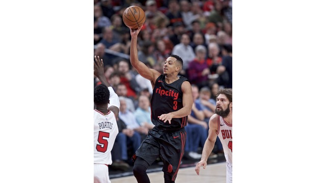 Chicago Bulls fall 124-108 to the Portland Trail Blazers