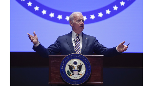 Joe Biden Talks 'Disaster' Trump Presidency