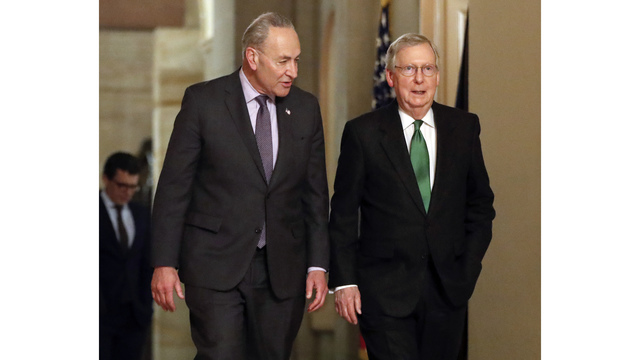 Senate votes to reopen government, passes budget deal. Next stop: the House