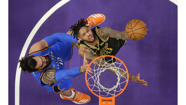 Thunder journal: Anthony, Westbrook questionable against Lakers