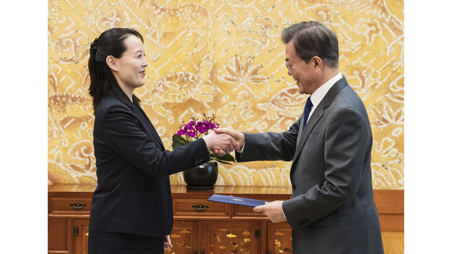 North Korean leader calls for meeting with South Korean president