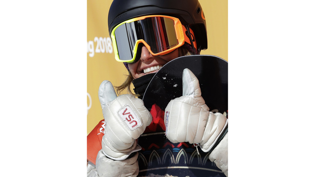 Olympics-Snowboarding-Anderson retains slopestyle gold in strong wind