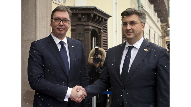 Serbian leader won't apologize for wartime nationalism