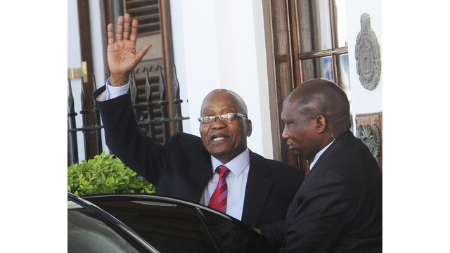 South Africa's ruling party finally turns against Zuma