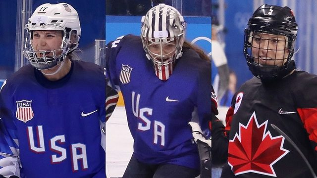 Hockey's Three Stars from Day 4 at the Olympics