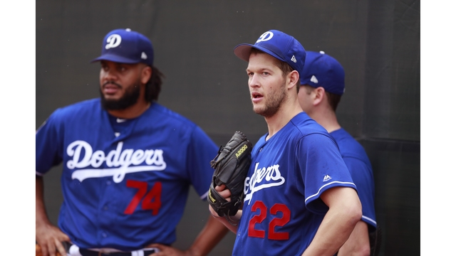 NL champion Dodgers getting started again with familiar 5
