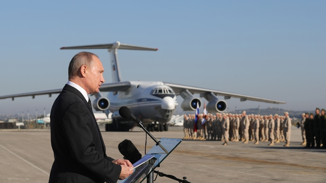 Russian Federation says USA trying to control east Syria