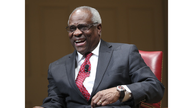 Justice Thomas: confirmation process not what it ought to be