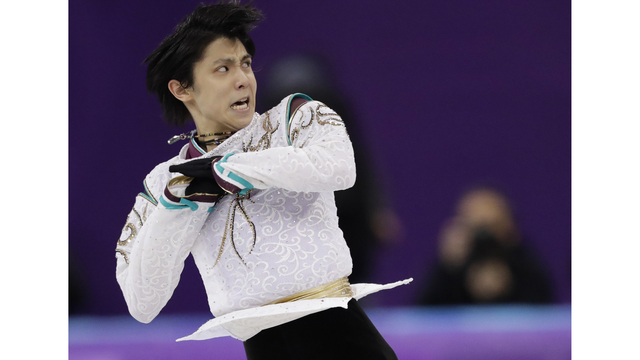 Hanyu retains Olympic figure skating title