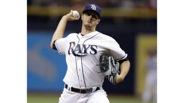 Rays trade Jake Odorizzi to Twins in exchange for minor-league shortstop