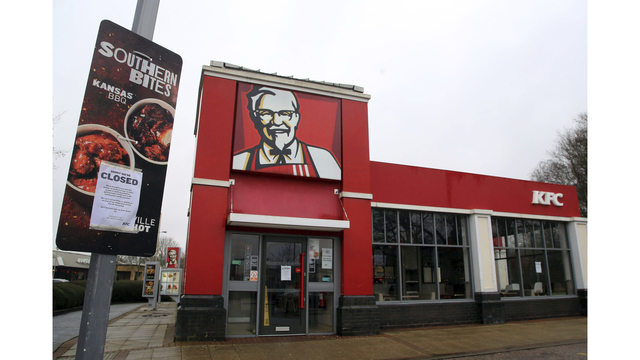 Chicken shortage causes KFC to close hundreds of United Kingdom stores