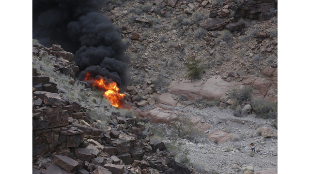 Grand Canyon helicopter crash victim dies from injuries