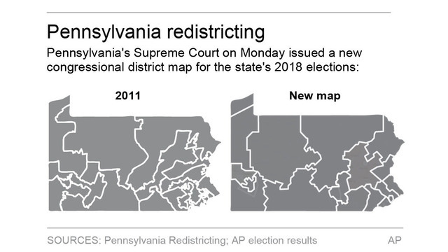 Court-Drawn Map in Pennsylvania May Lift Democrats' House Chances