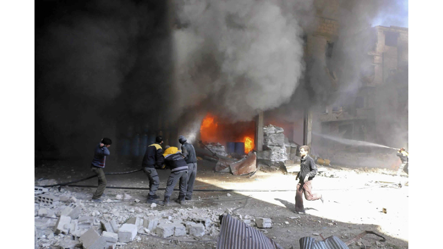 Civilian Situation in Syria's East Ghouta Spiraling out of Control