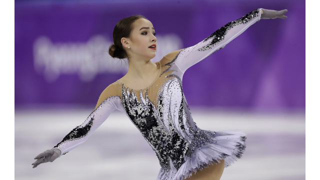 The Latest: Zagitova gives Russians 1st gold in Pyeongchang