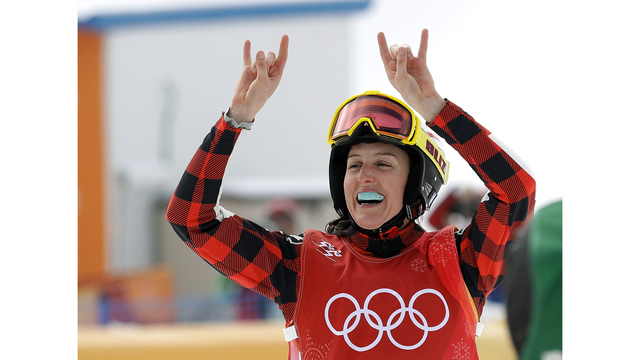 Canadians win gold, silver in Olympic women's skicross