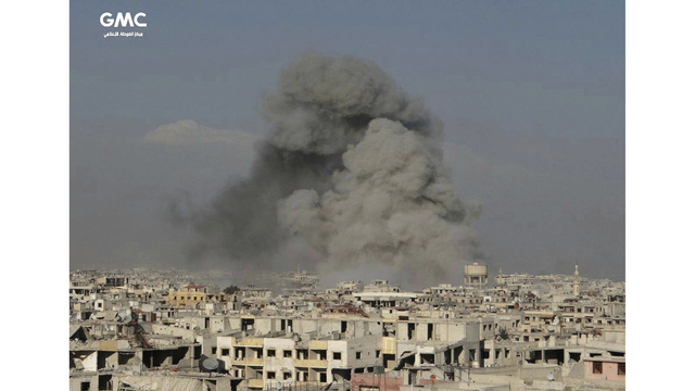 European Union leaders push for ceasefire in Syria's Eastern Ghouta