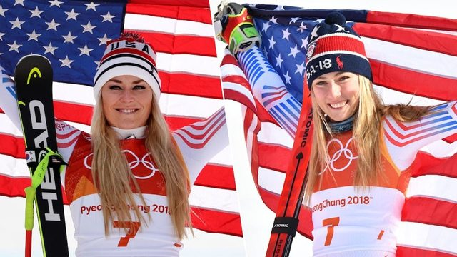 Historic Winter Olympics double for Ledecka