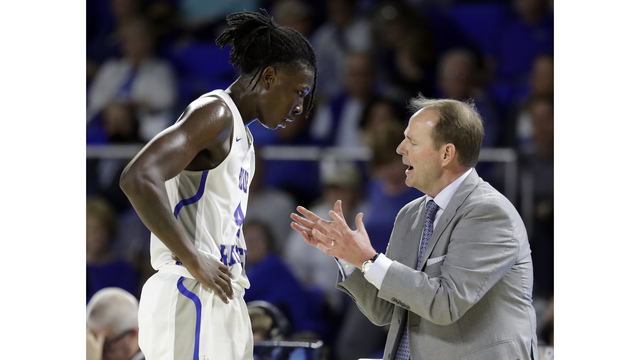 Ole Miss to announce hiring of Middle Tennessee basketball coach Kermit Davis