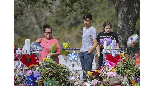 Student wounded in Florida school shooting says she's recovering
