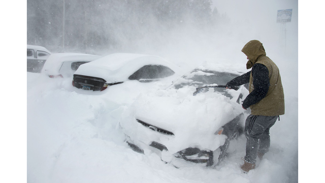 Sierra expected to be hit with several feet of snow