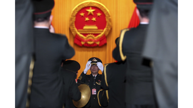 China says defense budget to rise to $173 billion in 2018
