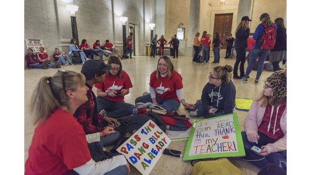 As the West Virginia Teachers' Strike Continues, Students Feel Its Effects