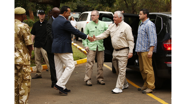 Tillerson Resumes Agenda in Kenya After Sudden Discomfort