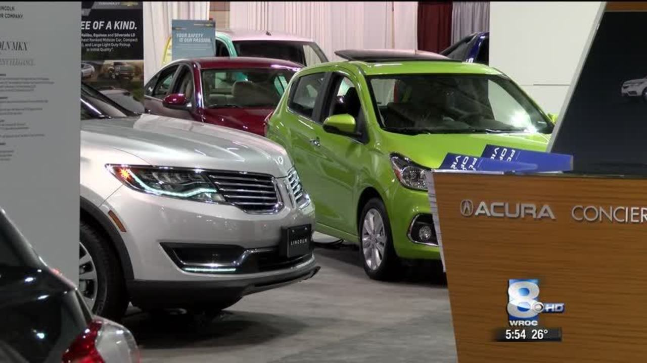 Rochester Auto Show Spotlights Latest Makes And Models - Rochester car show