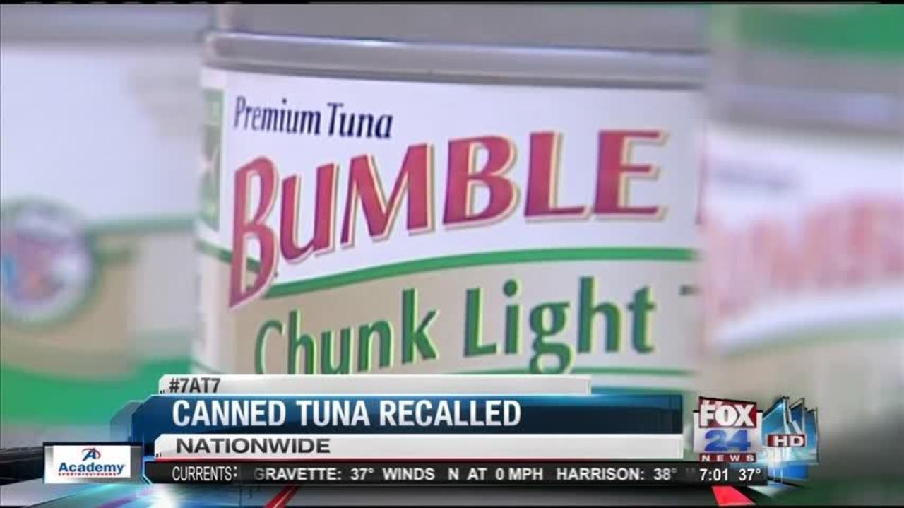 7at7:Canned Tuna Recalled For Possible Contamination