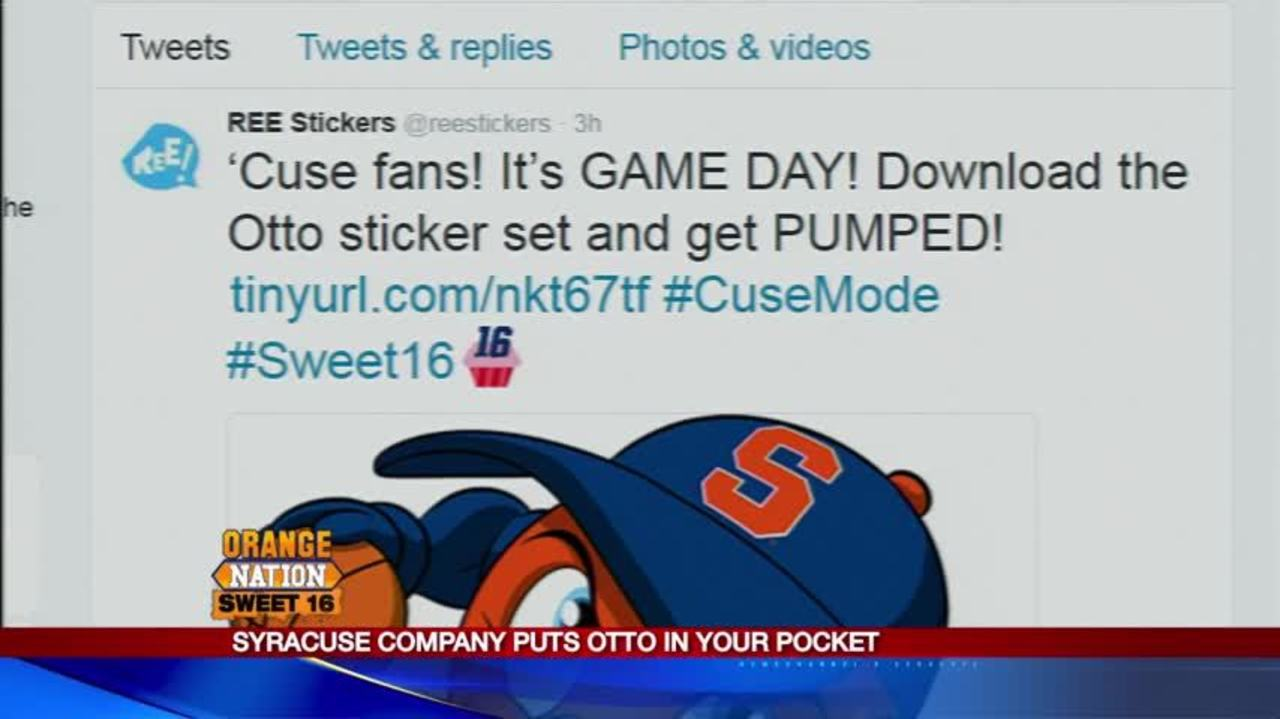 Syracuse Based Company Creates Otto The Orange Emojis