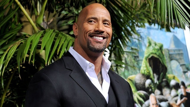 Dwayne Johnson Accepts the Razzie for 'Baywatch'