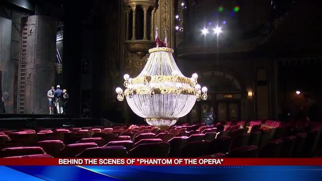 Going behind the scenes of the phantom of the opera aloadofball Gallery