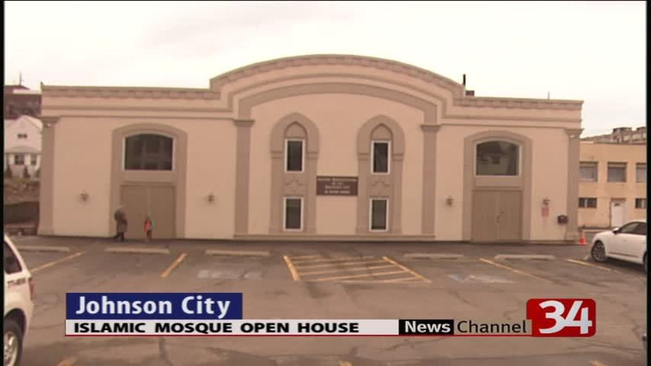 Johnson City mosque holds open house