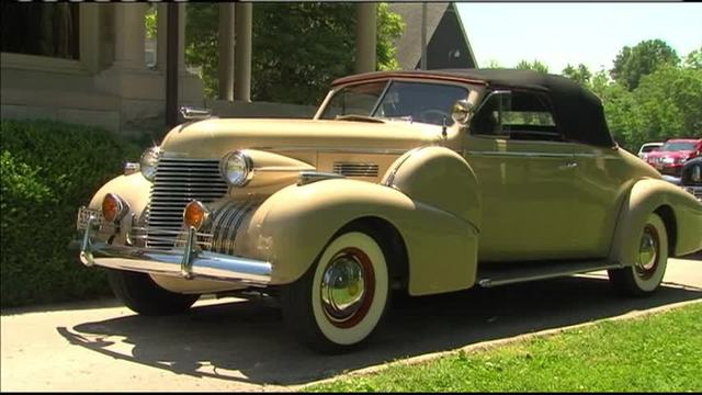 Classic Car Club Of America Stops In Carthage - Classic car club of america