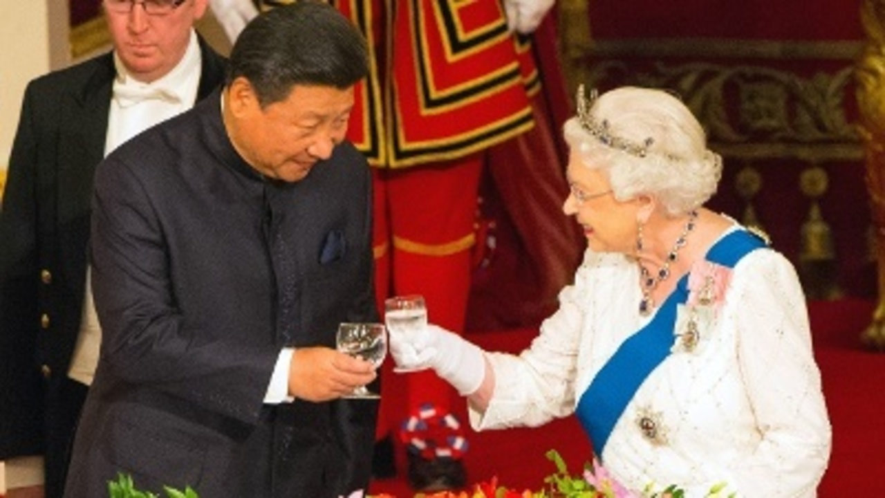 486788c24cd8f Queen  UK trip Chinese officials  very rude