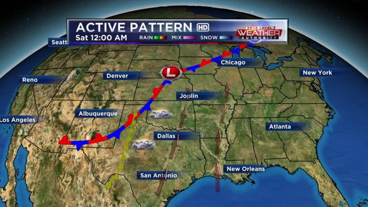 KSN Weather Forecast for May 24th - 2016