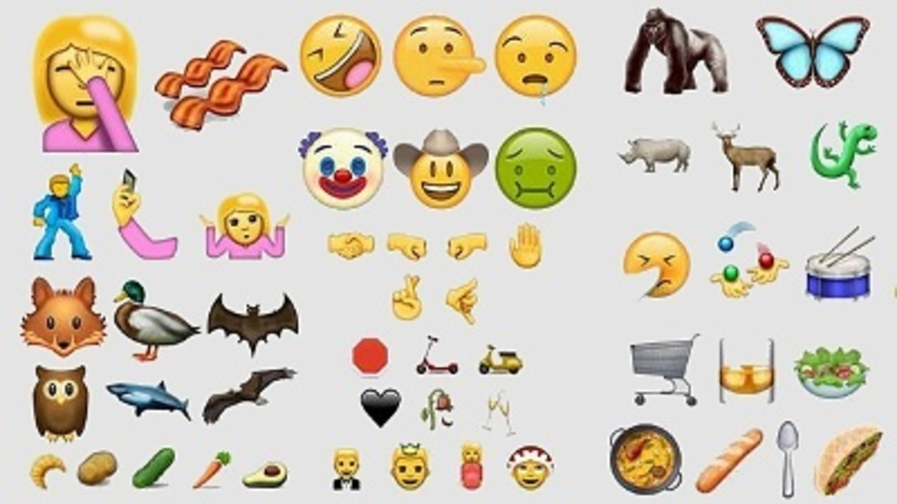 Get ready for 'facepalm' and 'selfie' emojis