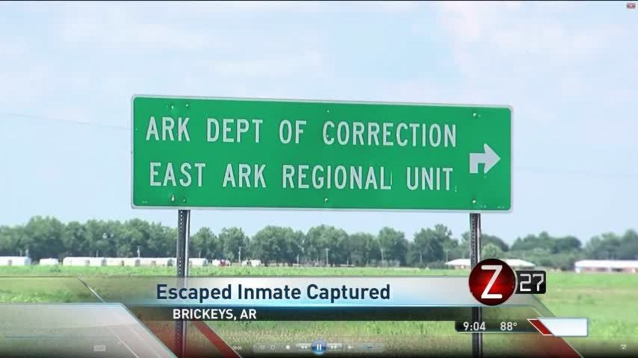 Escaped Murderer from Lee County, Arkansas Recaptured