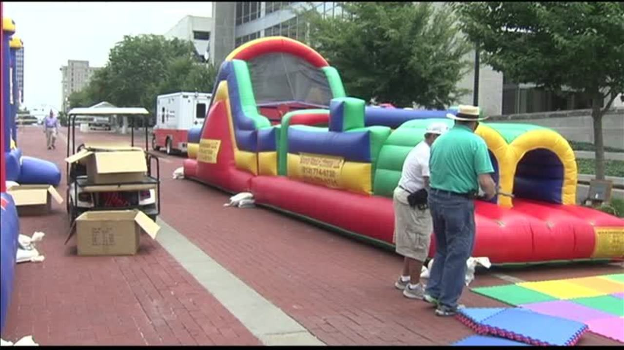 Shrinersfest Kidzone Offers Inflatables for Kids of All Ages