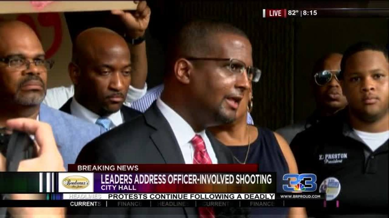 Together Baton Rouge news conference at 10 A M