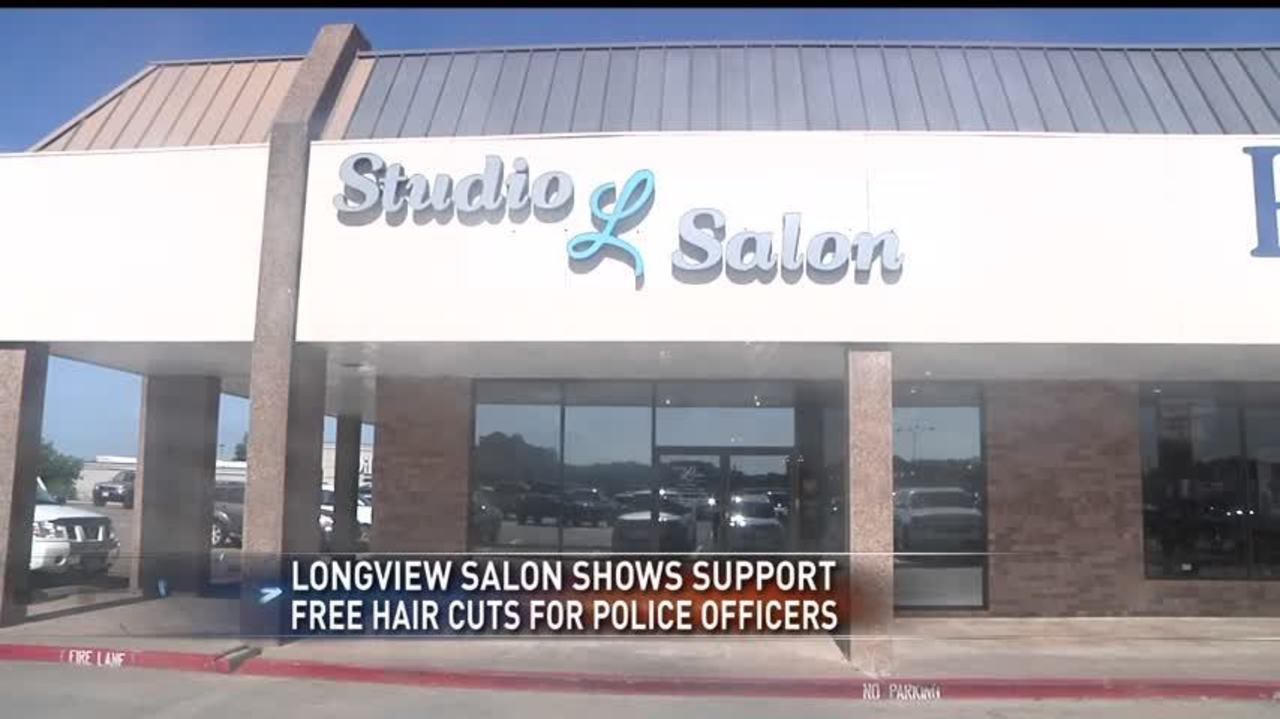 Free Haircuts For Longview Police Officers