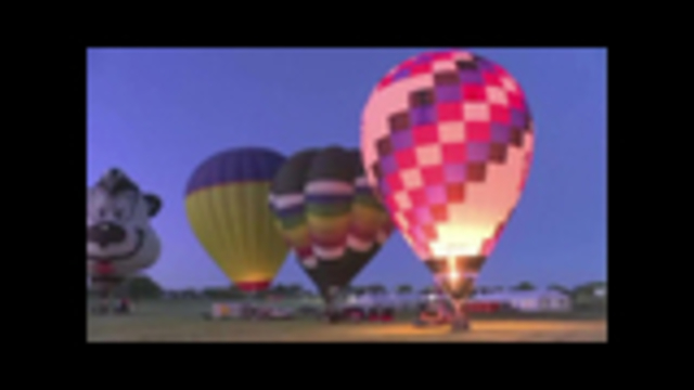 Hot air festival gets underway
