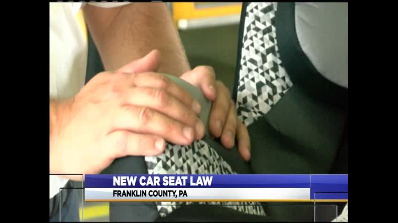 New Pennsylvania Law Requires All Children Under The Age Of Two To Ride Rear Facing In Car Seat