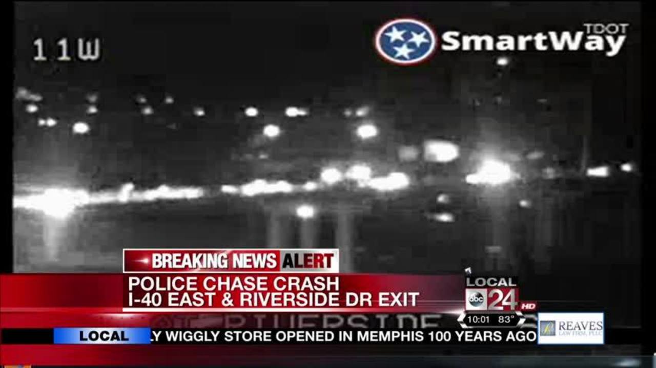 West Memphis Police Chase Ends In Downtown Memphis Near The River ...