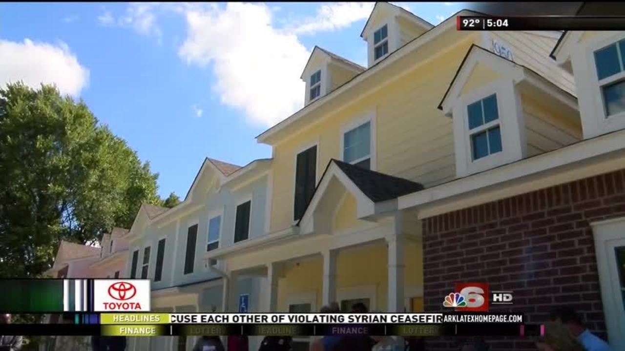 Cora M Allen Townhomes Rise In Downtown Shreveport