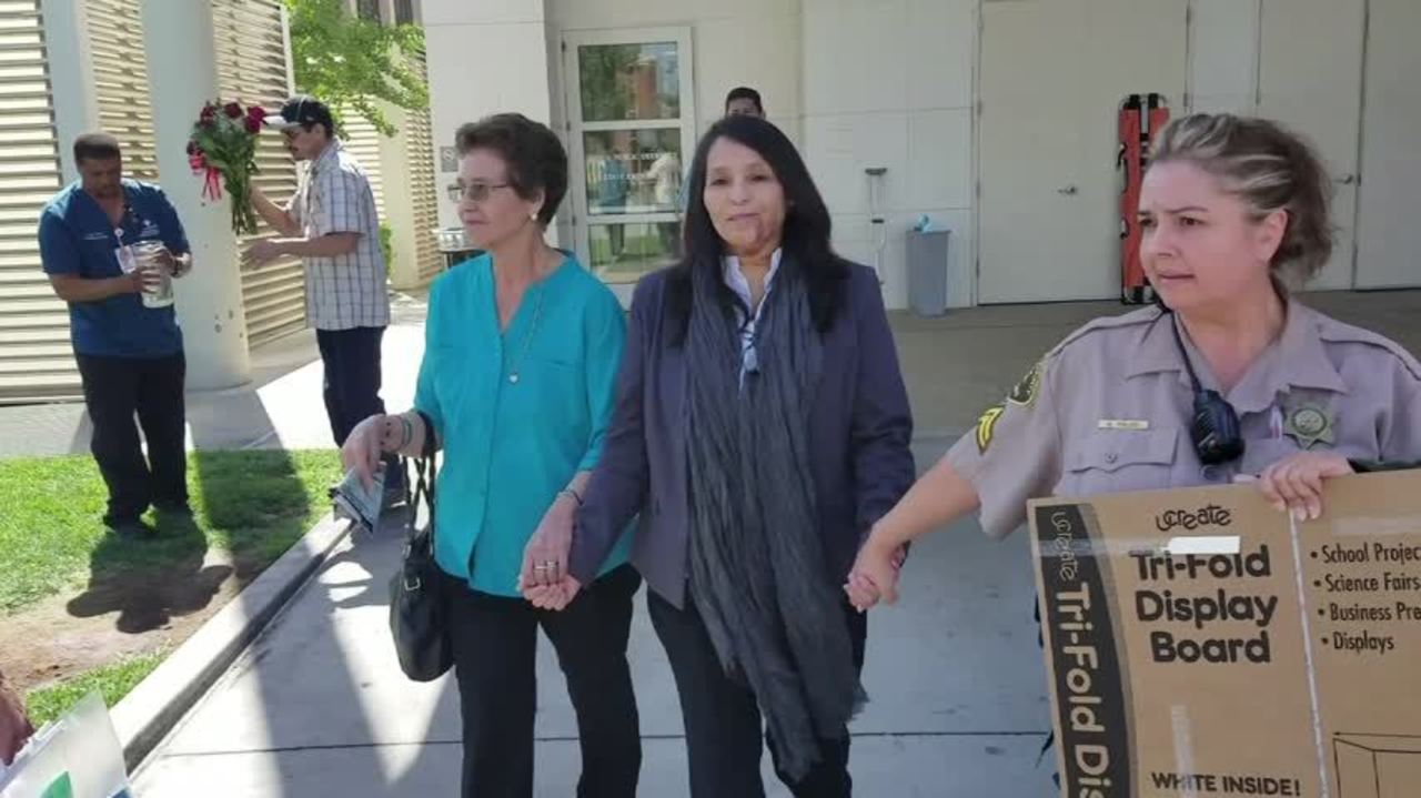 fresno correctional officer released from hospital after being shot 2 weeks ago