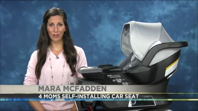 PA Live THE 4 MOMS SELF INSTALLING CAR SEAT